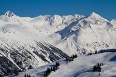 Backcountry Gipfel Stockfotos