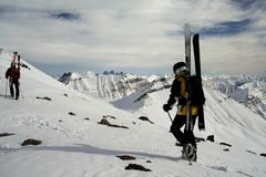 backcountry gudaury Royaltyfri Foto