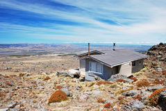 Backcountry hut Royalty Free Stock Photography