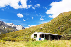 Backcountry hut, New Zealand Royalty Free Stock Photography