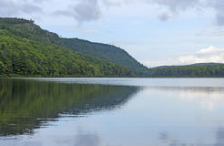 Backcountry Lake in the Sun Royalty Free Stock Image