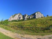 backcountry landskap i Rumänien Royaltyfria Foton