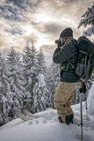 Backcountry Photographer Royalty Free Stock Photography