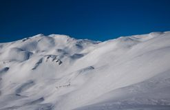 Backcountry skiers Stock Images