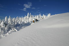 Backcountry Skiing 3 Royalty Free Stock Photography