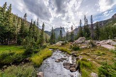 The call of Rocky Mountain National Park royalty free stock photography