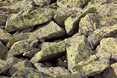Backdgound des pierres de la vraie montagne, modèle de nature Image libre de droits