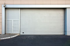 Backdoor. Commercial back door to retail store royalty free stock photography