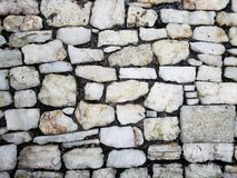 Light grey stone surface for decorating floor and wall, background and texture. Backdrop for architectural and construction industry announcements, retro style royalty free stock image
