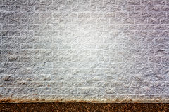 Backdrop or Background with White Block Walls Royalty Free Stock Photos