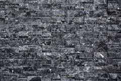 Backdrop of black brick wall texture. Backdrop and texture of black brick wall Royalty Free Stock Photography