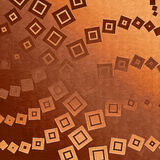 Backdrop brown with squares Royalty Free Stock Photo