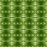 Abstract design with lines and geometric patterns on a surface with green and white threads, background and texture. Backdrop for colors related ads, geometric stock illustration