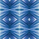 Abstract design with lines and geometric patterns on a surface with blue and white threads, background and texture. Backdrop for colors related ads, geometric royalty free stock image