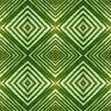 abstract design with lines and geometric patterns on a surface with green and white threads, background and texture royalty free illustration
