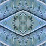 Abstract design with stone and sand material in blue and gray colors, background and texture. Backdrop for colors related ads, geometric pattern with reflection royalty free illustration