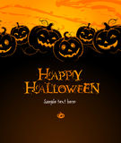 Backdrop Composition with Pumpkins Royalty Free Stock Image