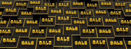 Backdrop With Cubes And Text Message SALE