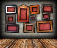 Backdrop with frames for your message Stock Photos