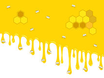 Backdrop honey Royalty Free Stock Photos