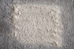 Backdrop made from flour Stock Image