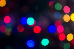 Backdrops with lights on the background 5. Beautiful fantasy colorful pastel bokeh blurred defocused backdrops soft lights background with selective focus Stock Images