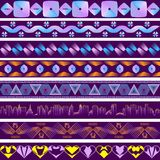 Backgrounds in the style of ultraviolet. 8 backdrops in style and ultraviolet from geometric figures Stock Photos