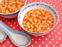 Backed beans Royalty Free Stock Photos