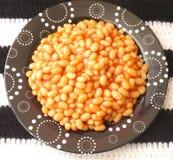 Backed beans Stock Photo