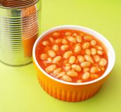 Backed beans Royalty Free Stock Photography