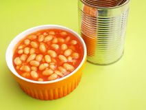 Backed beans Royalty Free Stock Images