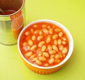 Backed beans Stock Photo