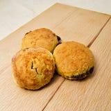 Backed tasty chestnut doughnut castanea sativa - fagaceae. for food concept royalty free stock photography