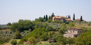 backen houses italienare Royaltyfri Bild
