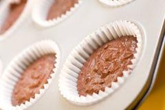 Backen-kleine Kuchen lizenzfreie stockfotos