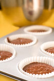 Backen-kleine Kuchen Stockfoto