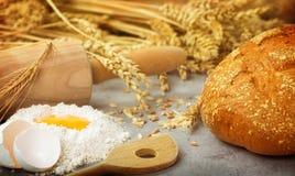 Backen Sie frisches Brot Lizenzfreie Stockfotografie