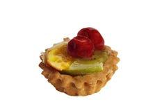 Backen Sie mit Früchten zusammen Lizenzfreie Stockbilder