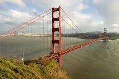 Backen Sie Strand und Golden Gate Stockfotos