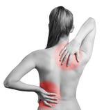 backen smärtar arkivfoton