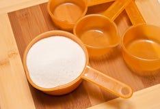 Backen und Kochen mit Zucker Lizenzfreie Stockbilder
