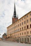 backen wrangelska улицы stockholm Стоковое Изображение RF