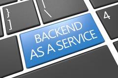 Backend als Service stock abbildung