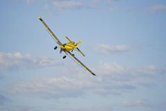 Backend of a crop duster Royalty Free Stock Images