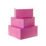 Backery boxes Stock Photo
