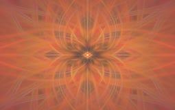 Πορτοκαλιά τέχνη σχεδίων θαμπάδων γεωμετρική backfill ελεύθερη απεικόνιση δικαιώματος