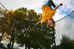 Backflip Royalty Free Stock Photography