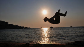 Backflip Royalty Free Stock Photo