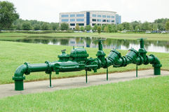 Backflow Regulator Stock Image