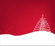 backg美丽的圣诞树 皇族释放例证